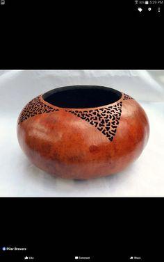 Fine Gourd Art-Filigree angles by gloriajc on Etsy
