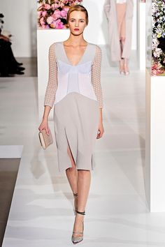 Jil Sander by Raf Simon, beautiful pastels #couture #belgium