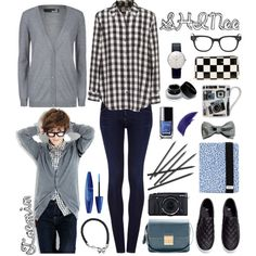 """31. Taemin Schoolboy/Schoolgirl"" by himchan on Polyvore. Very cute"