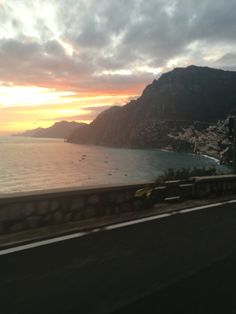 Tramonto Positano - Amalfi Coast - Drive to Positano - www.enjoysorrentolimo.com visit with us Amalfi Coast