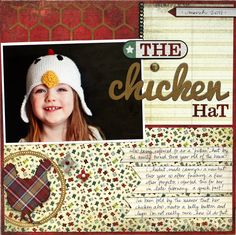 The Chicken Hat   Melanie Bauer