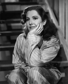 1942:  Jean Arthur in The Talk of the Town