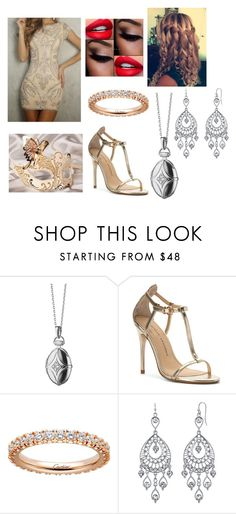 """Untitled #77"" by nannabananna on Polyvore featuring Monica Rich Kosann, Masquerade, Chinese Laundry, Cartier and 1928"