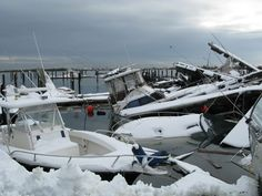 Hurricane Sandy Damages More than 65,000 Boats