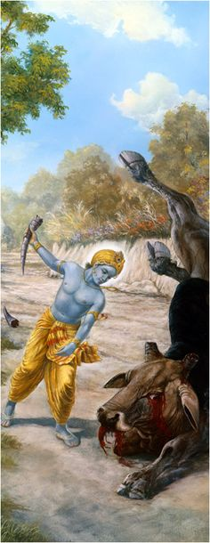 Lord Krishna Kills Aristasura