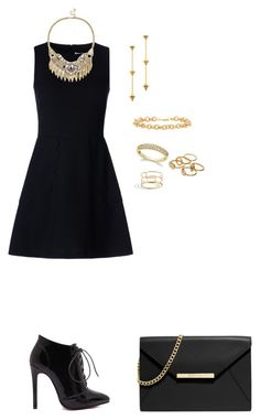 """Sin título #1344"" by danareyesguido on Polyvore featuring moda, RED Valentino, Sole Society, Chloé y MICHAEL Michael Kors"