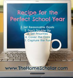 The new homeschool year is almost here! Are you ready? Have you started your year? You may be wondering how those perfect homeschoolers get it all done. The perfect homeschool is like making a successful dinner; you just need a few key ingredients to get it all done. http://homeschoolmosaics.com/5-ingredient-recipe-for-the-perfect-homeschool-year/