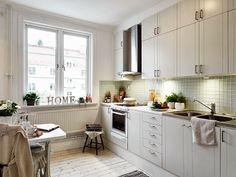 Virlova Style: [Deco] Letras como protagonistas en un apartamento de 50m²