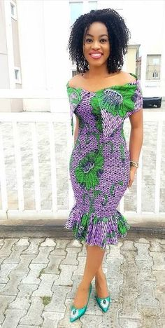 Ankara Xclusive: The Most Attractive and Popular African Print Dresses 2018 Remilekun - African Styles for Ladies Modern African Print Dresses, Short African Dresses, Ankara Short Gown Styles, African Traditional Dresses, Ankara Gowns, Kente Styles, Ankara Wedding Styles, African Fashion Ankara, Latest African Fashion Dresses