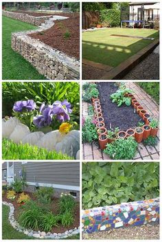 Get rid of any burrowing animals with this dawn soap solution do 10 brilliant garden edging ideas you can do at home solutioingenieria Images