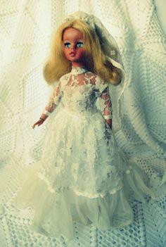Vestido de Noiva Boneca Susi de 1982