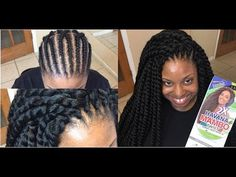 Trending: 30-Minute Crochet Havana Mambo Twists | Black Girl with Long Hair