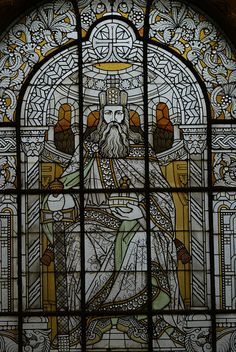 Charlemagne | Stained Glass Window in Reception Room at Gare de Metz