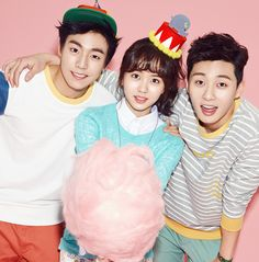 Lee Hyun Woo, Kim So Hyun, and Park Seo Joon for Unionbay Spring 2014 Ad Campaign