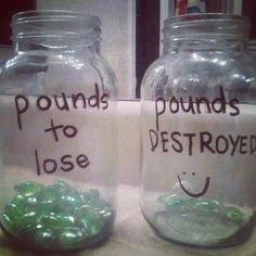 This is a fun way to monitor your weight loss and make progress