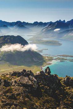 Moskenesøya, Norway, by Rosen Velinov Lofoten, Beautiful Norway, Beautiful World, Beautiful Places, Oslo, Norway Places To Visit, Places To Travel, Places To Go, Travel Destinations