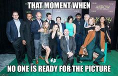 Love the cast of Arrow #youhavefailedthiscity