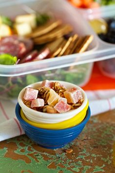 Homemade granola: Project Lunch Box, #breakfast #snack #brunch