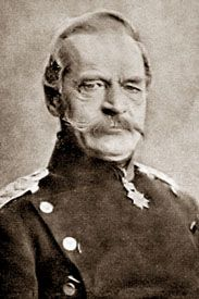 1860-New Prussian Minister of War Von Roon introduces military reforms; longer military service, Army twice as big, etc.