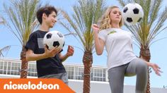 Get Up & Play w/ Lizzy Greene, Aidan Gallagher & the Rest of NRDD ⚽️  | ...