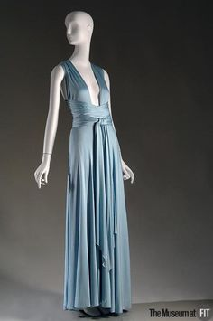 1972 Halston Dress via The Museum at FIT