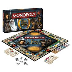 LOTR Monopoly $39.99