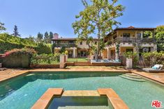 For sale: $11,299,000. An ultra private and gated Mediterranean estate in the exclusive Brentwood Park. An entertainers dream, the architecture delivers incredible volume, scale & flow throughout, with double height ceilings and oversized rooms. A true sense of luxury can be felt inside and out, highlighted by solid oak floors and the highest quality finishes from top to bottom. The Luxurious Master retreat includes an antique fireplace, veranda, spacious his and hers baths & walk-in-...
