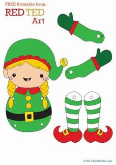 carterie, pergamano et tableaux - Page 8 - Basteln dekoration Preschool Christmas, Christmas Activities, Christmas Crafts For Kids, Christmas Elf, Christmas Colors, Christmas Projects, Holiday Crafts, Elf Christmas Decorations, Paper Puppets