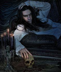 Vampire by *pranile on deviantART Male Vampire, Vampire Dracula, Vampire Love, Gothic Vampire, Vampire Art, Vampire Pics, Gothic Men, Dark Gothic, Deviant Art