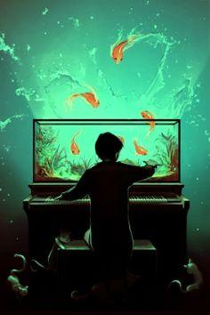 Fantasia e surrealismo nas ilustrações de Cyril Rolando
