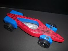 Pinewood Derby car -- Boys' Life magazine