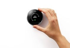 Nest Thermostat // This home thermostat learns your behavior and adjusts itself accordingly.