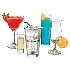 Libbey Bar In A Box 18 Piece Glassware Set : Target