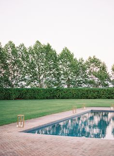 pool / landscaping
