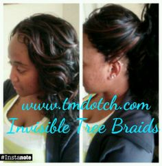 Invisible Tree Braids