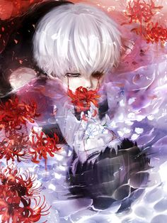 Likes, 1 Comments - Tokyo Ghoul Turkey Anime Manga, Anime Art, Red Spider Lily, Otaku, Ken Kaneki Tokyo Ghoul, Tokyo Ghoul Wallpapers, Sword Art Online, Art Tutorials, Cute Wallpapers