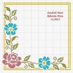 Cross Stitch Boarders, Cross Stitch Love, Cross Stitch Cards, Cross Stitch Flowers, Cross Stitch Designs, Cross Stitch Embroidery, Hand Embroidery, Cross Stitch Patterns, Cross Stitch Cushion