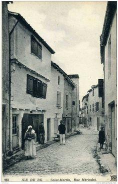 Rue Mérindot à Saint Martin - Ile de Ré