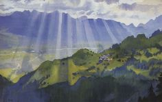 Imagen de http://es.wahooart.com/Art.nsf/O/8XZ8N4/$File/Zinaida-Serebriakova-Mountain-landscape.-Switzerland-.JPG.