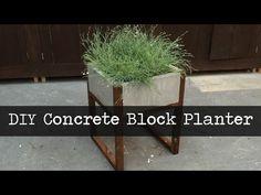 Modern Concrete Paver Planter DIY Tutorial – Best Concrete Products Videos