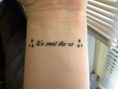 30 Sensational Short Tattoo Quotes | CreativeFan