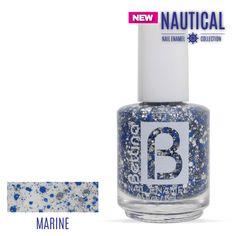 """Otro de nuestros nuevos #Bettina #NailEnamel... de la colección """"Nautical"""" nos llega el color """"Marine"""".¡Úsalo sólo o como acento en tus uñas! #NailPolish"""