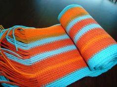 Warp knit Stripes, Textiles, Blanket, Crochet, Knits, Fabric, Knitting Machine, Inspiration, Projects