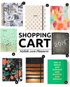 8 Stylish 2016 Planners For A Creative Gal - The Key ItemThe Key Item