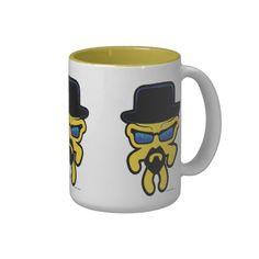HeisenSkullyfish Mug #theartistgrimm #grimm #mug #breakingbad #television #tv #walterwhite #heisenberg #bryancranston #skullyfish #artist #art #coffee #tea #hotchocolate #hotcocoa #coolmug