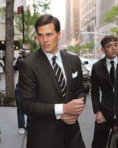 A clean-cut Tom Brady