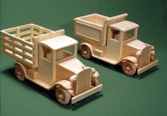 Free Wooden Toy Plans | ... size woodworking project plans to build these…