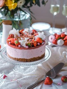 Most Delicious Recipe, Delicious Cake Recipes, Yummy Cakes, Dessert Recipes, Yummy Food, Desserts, Vegan Cake, Vegan Cheesecake, Cake Fillings