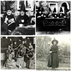 vintage witch photos