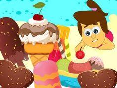ICE CREAM SONG Preschool Music, Preschool Letters, Rhymes Songs, Kids Songs, Summer Songs, Summer Fun, Nursery Ryhmes, Ice Cream Theme